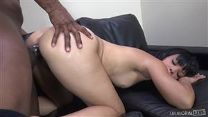 pawg rides reverse cowgirl